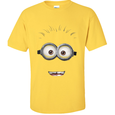 Minion Dave Smile T-Shirt (Personalise Me)