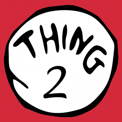 Thing 2 T-Shirt (Personalise Me)