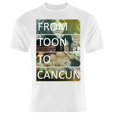 From Too Collage T-Shirt (Personalise Me)
