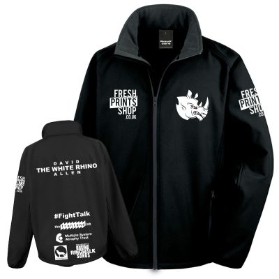 White Rhino Softshell Jacket