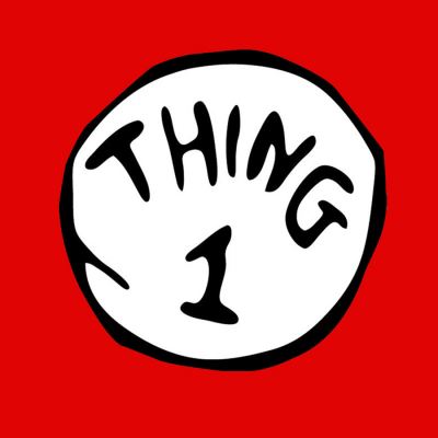 Thing 1 T-Shirt (Personalise Me)