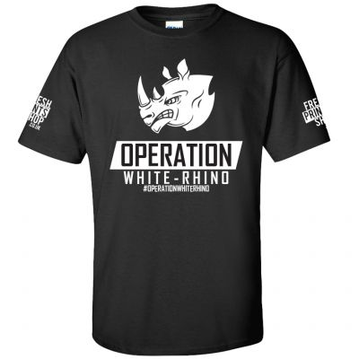 Operation White Rhino T-Shirt