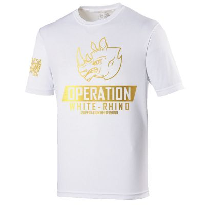 Limited Edition Operation White Rhino T-Shirt