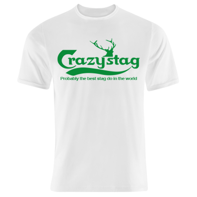 Crazystag T-Shirt (Personalise Me)