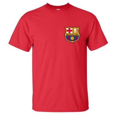 Beercelona T-Shirt (Personalise Me)
