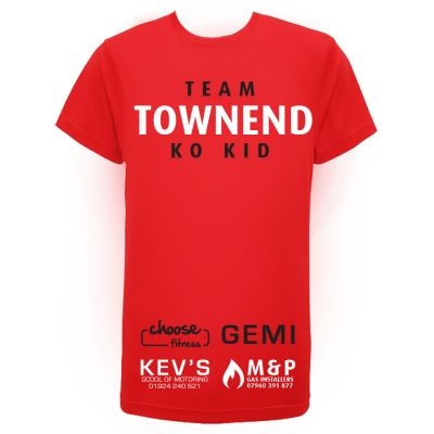 Kids Team Townend Ringwalk T-Shirt (Bramall Lane 2017)