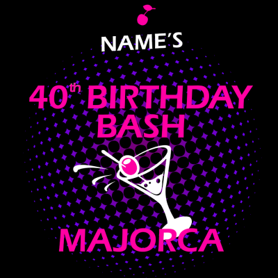 Birthday Bash T-Shirt (Personalise Me)