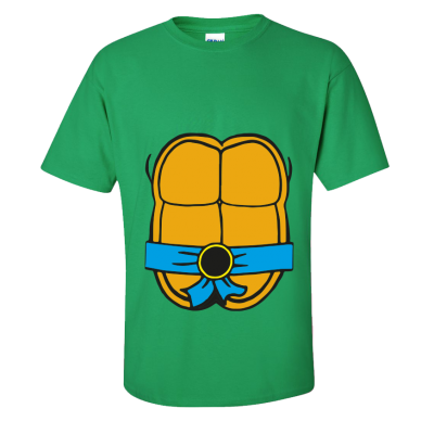 Teenage Turtle T-Shirt Blue (Personalise Me)