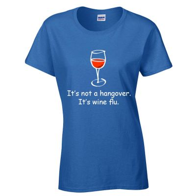 Wine Flu Glass T-Shirt
