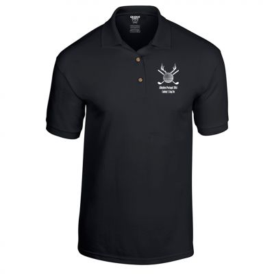 Golf Stag T-Shirt Polo (Personalise Me)