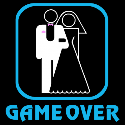 Game Over T-Shirt (Personalise Me) 3