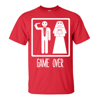 Game Over T-Shirt (Personalise Me) 2