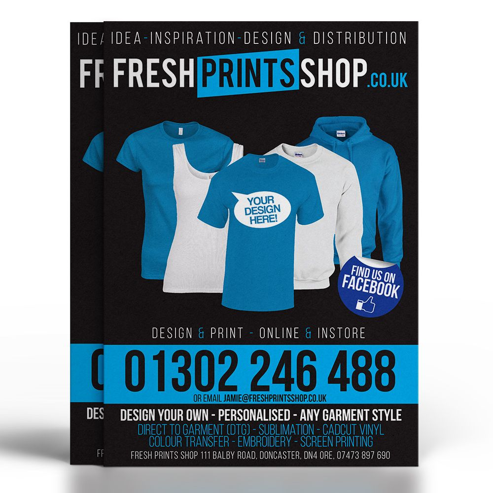 flyer print fresh prints specialising in design print