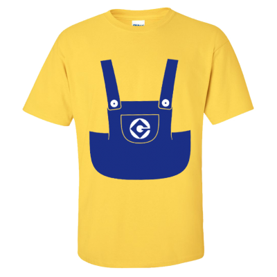 Minion Suit T-Shirt (Personalise Me)