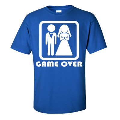 Game Over T-Shirt (Personalise Me)