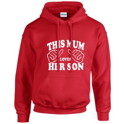 This Mum Loves Her Son Hoodie