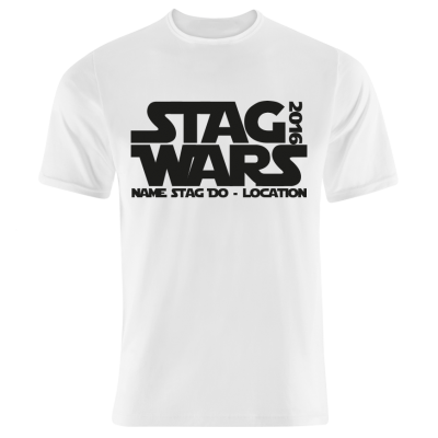 Stag Wars T-Shirt (Personalise Me) 2