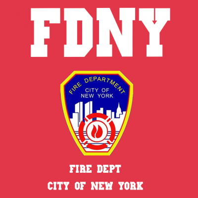 Fire Department T-Shirt (Personalise Me)