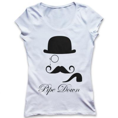 Pipe Down T-Shirt