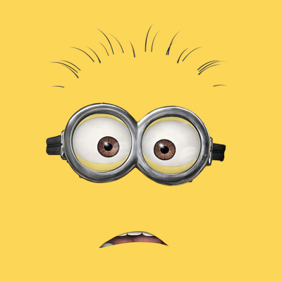 Minion Dave Shocked T-Shirt (Personalise Me)