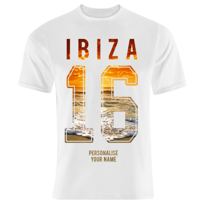 Sunset T-Shirt (Personalise Me)