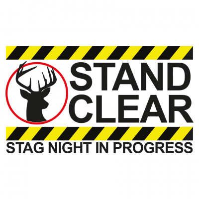 Stand Clear Stag T-Shirt (Personalise Me)