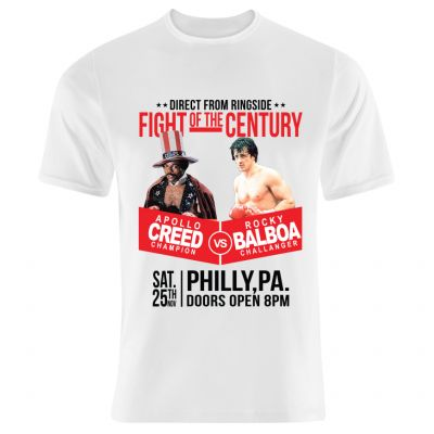 Creed v Balboa - Fight Of The Century T-Shirt 2