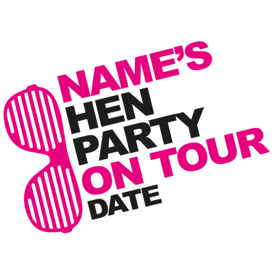 Hen Party On Tour T-Shirt (Personalise Me)