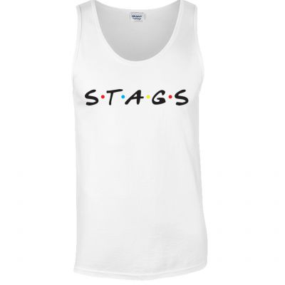 Stags Friends Vest (Personalise Me)
