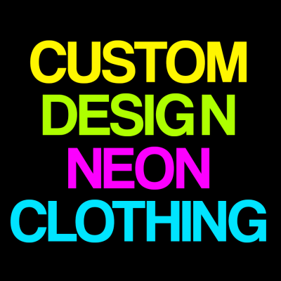 Neon Custom Design 2 T-Shirt (Personalise Me)