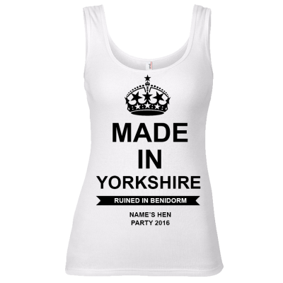 Made in Location Vest (Personalise Me)